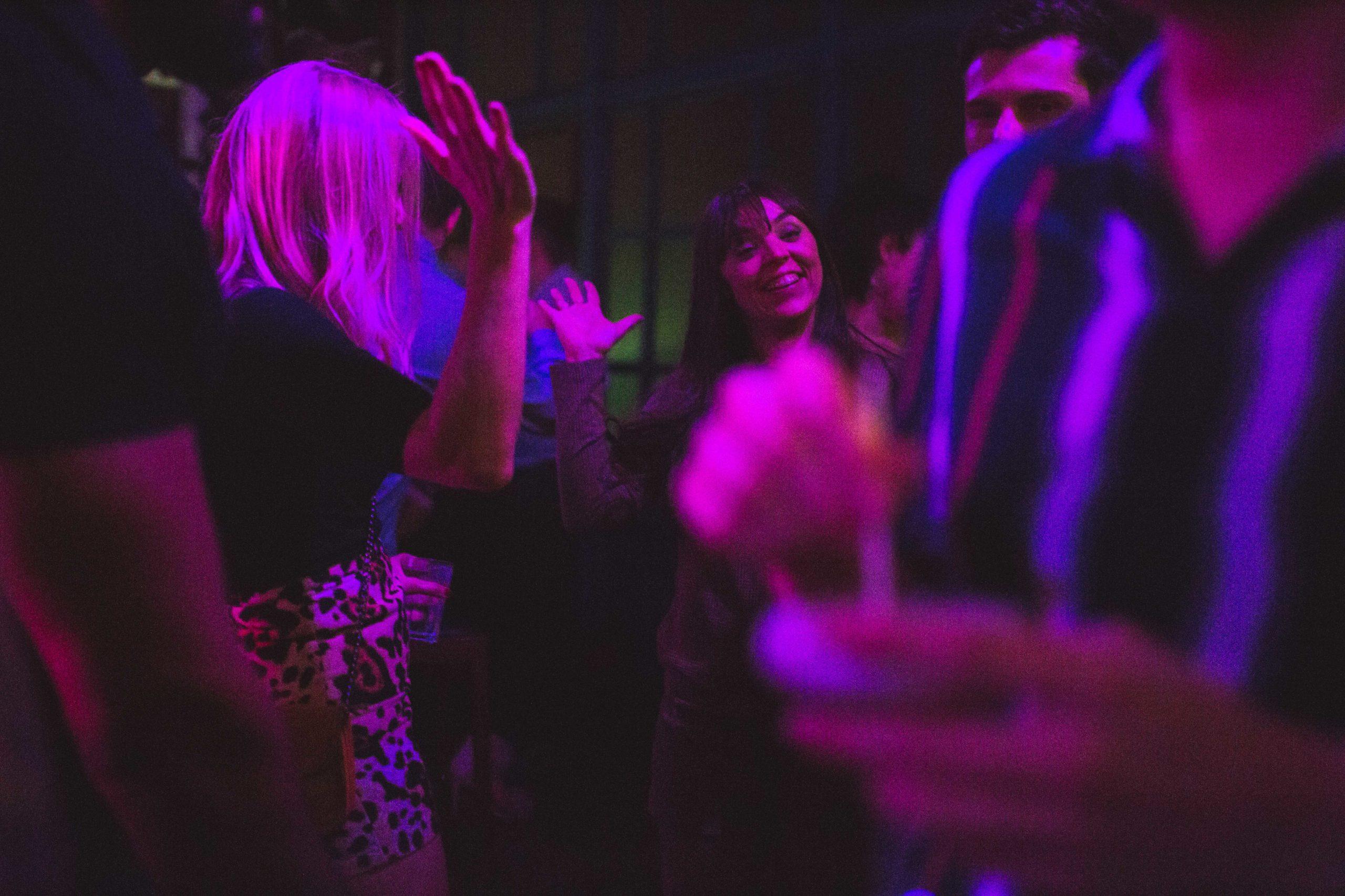 People dancing in the venue 1
